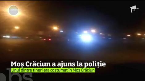 Moș Crăciun a fost arestat în Constanța