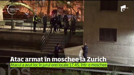 Atac armat la o moschee din Zurich! Trei persoane au fost rănite