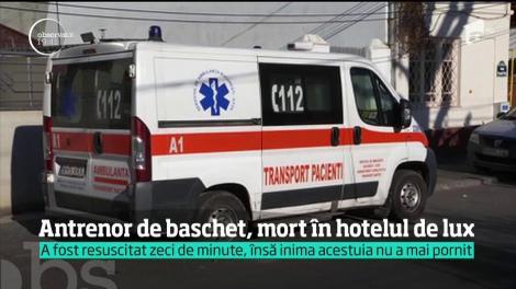 Antrenor de baschet, găsit mort într-un hotel de lux din Capitală