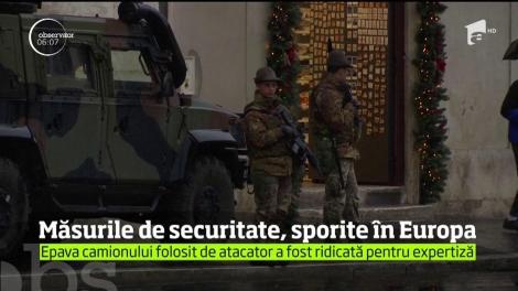 Măsurile de securitate au fost sporite în Europa! Autorul atacului de la Berlin este în libertate