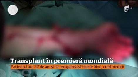 Primul transplant de mână la un om născut fară a avut loc în Polonia