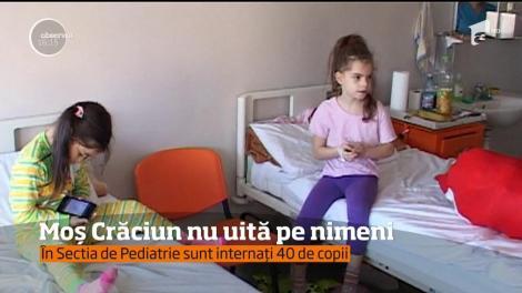 În Secția de Pediatrie din Vâlcea, a venit Moș Crăciun!
