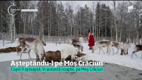 Copiii din toată ţara s-au pregătit, cum au ştiut ei mai bine, pentru întâlnirea cu Moş Crăciun