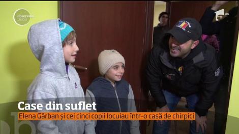 Ajutor pentru cinci copii săraci