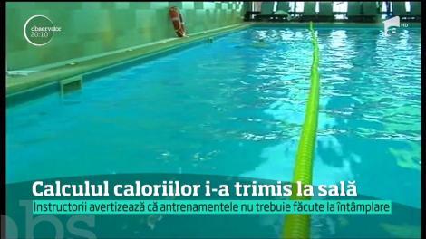 Calculul caloriilor i-a trimis pe români la sala de sport