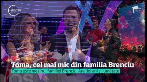 Horia Brenciu a avut aproape toată familia la prima ediție a emisiunii Uniplay Show