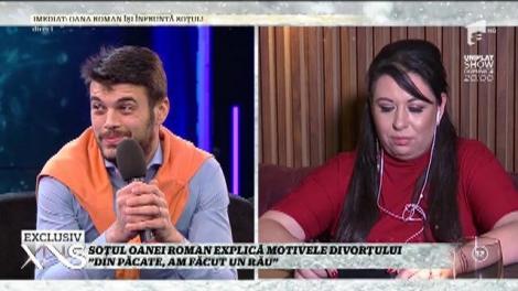 """Marius Elisei explică motivele divorţului de Oana Roman: """"Din păcate, am făcut un rău!"""""""