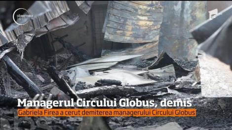 Gabriela Firea a cerut demiterea managerului Circului Globus