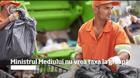 Ministerul Mediului nu mai vrea bani de la operatorii de salubritate