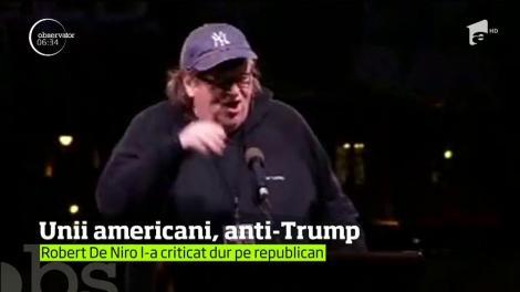 Miting împotriva preşedintelui Donald Trump la New York