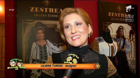 """Expoziția de costum și fotografie """"Zestrea"""", semnată de Liliana Țuroiu, vernisată la Ateneul Român"""