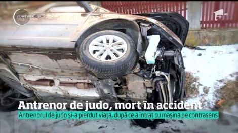 Un cunoscut antrenor de judo din Baia Mare şi-a pierdut viaţa într-un accident de maşină