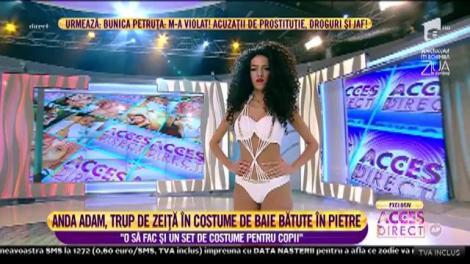 Imagini hot! Topul celor mai sexy costume de plaja din colecția Andei Adam