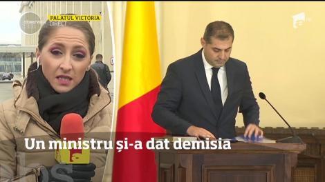 Ministrul pentru Mediul de Afaceri, Florin Jianu, şi-a dat demisia