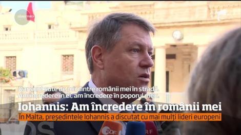Preşedintele le-a vorbit jurnaliştilor străini despre situaţia României