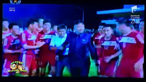 Smiley News: Cum arată un meci de fotbal în Coreea de Nord