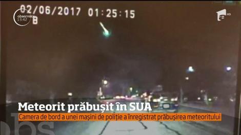 """IMAGINI INCREDIBILE cu mingea de foc! Un meteorit s-a prăbuşit pe Pământ: """"Zgomotul a fost înfiorător"""""""