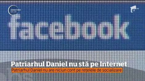 Patriarhul României nu are niciun cont pe reţelele de socializare