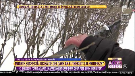 """Cristian Zărescu, consilierul primarului sectorului 4 """"Când a sărit, în apartament erau doar două fete și un îngrijitor"""""""