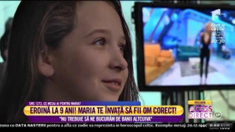 """La doar nouă anișori, o fetiță a devenit eroină pentru români. Gestul ei i-a lăsat pe toți fără cuvinte: """"Nu trebuie să ne bucurăm de banii altcuiva"""""""