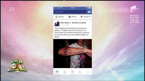 """Rubrica """"Decât un prieten în plus pe Facebook, mai bine un prieten în minus"""". Mesajul câștigător: """"Totzi engleji kare ancearka sa ma pune la pamint... le dedik ...."""""""