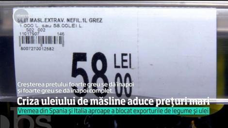 Vremea din Spania și Italia aproape a blocat exporturile de legume și ulei