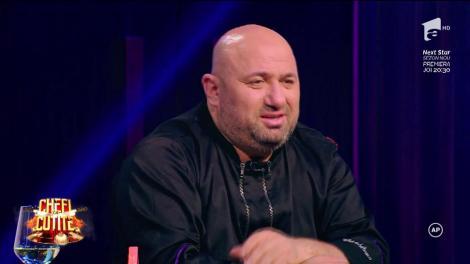 """Chef Cătălin Scărlătescu, subiect de glume: """"Nu ar fi o idee să-ți faci o echipă de opt- zece. Poate cine știe..."""""""