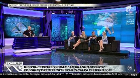 """Iubitul Cristinei Cioran, Traian Văduva: """"Fac antrenamente în Marea Neagra"""""""