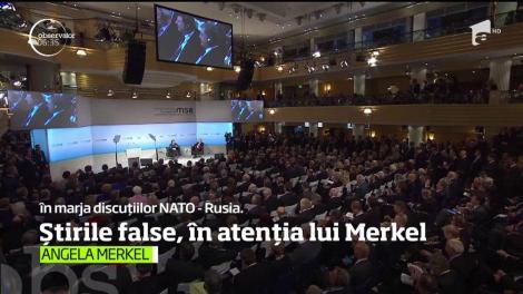 Problema atacurilor informatice şi a ştirilor false, în atenţia cancelarului german Angela Merkel