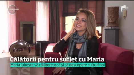 Maria, o tânără care a învăţat să îşi câştige existenţa colindând lumea