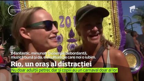 Petrecere cu repetiție în Rio de Janeiro