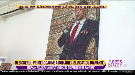 Designerul primei doamne a României, blindat cu diamante!
