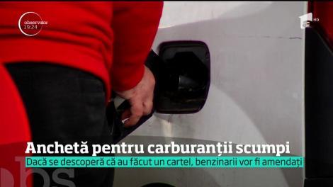 Anchetă pe piaţa carburanţilor din România, după ce taxele au scăzut, iar preţul la pompă a tot crescut
