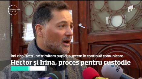 Miliardarul mexican Hector Bitar de la Pena și Irina, proces pentru custodie