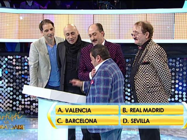 Rândul 6: Ce echipă de fotbal evoluează în capitala Cataloniei?