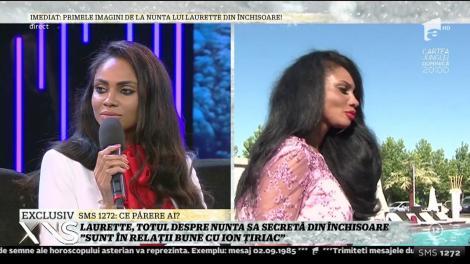 """Laurette """"Sunt în relații bune cu Ion Țiriac"""""""