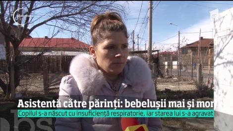 Un băieţel care a venit pe lume la maternitatea din Ploieşti a murit după nicio zi. Din neglijenţa medicilor, acuză părinţii!