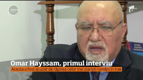 Omar Hayssam, primul interviu, în exclusivitate