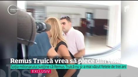 Remus Truică vrea să plece din ţară. Motivul - reînnoirea rezidenţei în Monaco