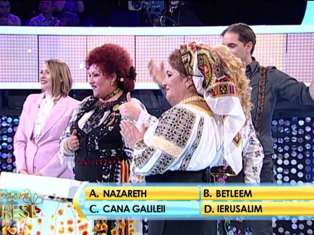 Maria Cârneci, Laura Lavric, Elena Merișoreanu și Mirela Vaida față în față cu blonda supremă