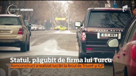 Statul, păgubit de firma lui Turcu