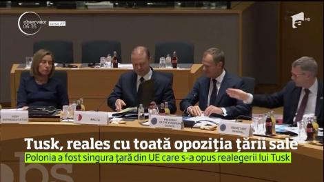 Donald Tusk, reales preşedinte al Consiliului European în ciuda opoziţiei guvernului polonez