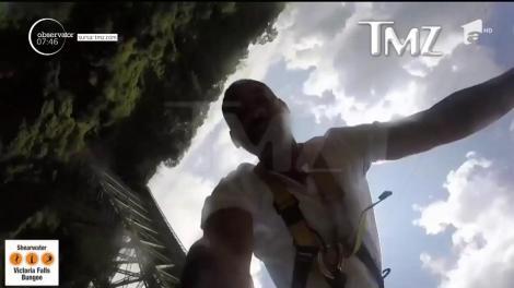 Will Smith, aflat în Africa, a sărit de la peste 90 de metri înălțime