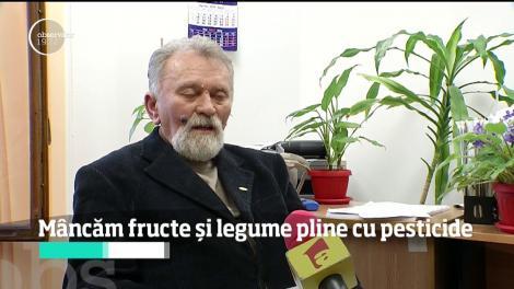 Fructele și legumele aduse din Turcia, Olanda sau Polonia sunt pline cu pesticide