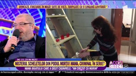 """Maria, vecină cu blocul morții din Bistriţa Bârgăului: """"Doar locatarii au acces în pod"""""""