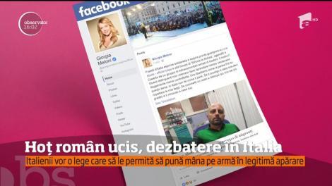 Uciderea unui român, de 33 de ani, subiect de dezbatere în Italia