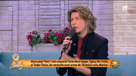 """Tudor Turcu, câștigătorul concursului X Factor 2012, a lansat o nouă melodie, """"Venin"""""""