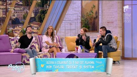 """Alessia, anunț bombă la """"Prietenii de la 11"""": """"Gata, mă mărit!"""". Ce inel a primit cântăreața"""