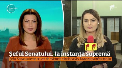 Călin Popescu Tăriceanu şi Gabriel Oprea s-au întâlnit astăzi şi au stat de vorbă pe holurile Înaltei Curţi. Ambii sunt inculpaţi în dosare ale DNA