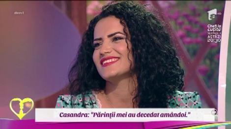 """Casandra, în lacrimi: """"Părinţii mei au decedat amândoi"""""""
